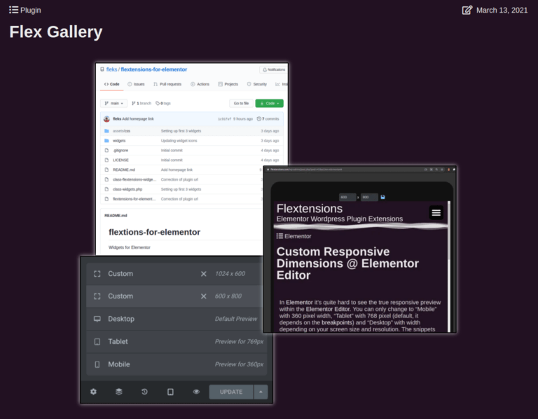 Flex Gallery - Elementor WordPress Plugin