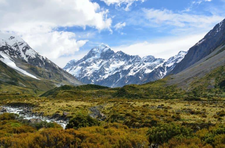 Mountain Valley Alps