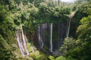Waterfall Tumpaksewu Indonesia